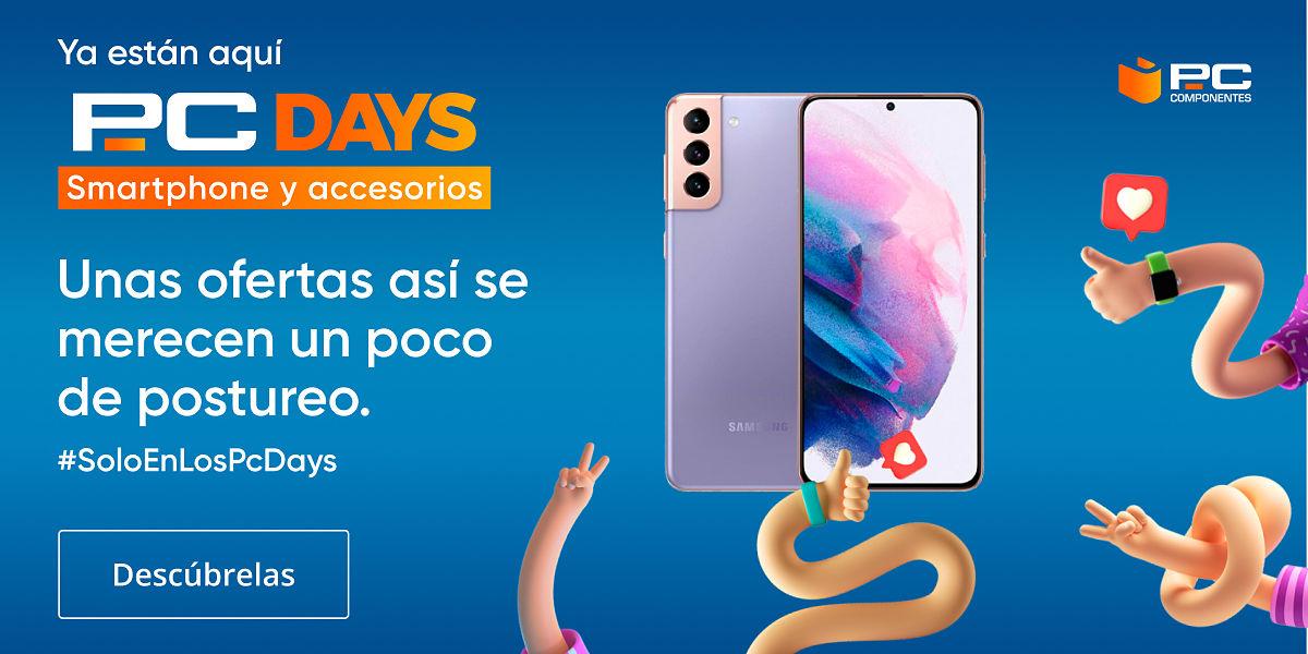 ofertas smartphones en los PcDays